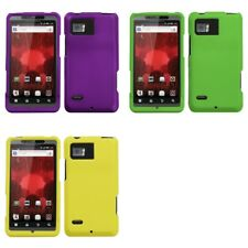 For Motorola Droid Bionic XT875 Snap-On Hard Case Phone Cover Skin Accessory