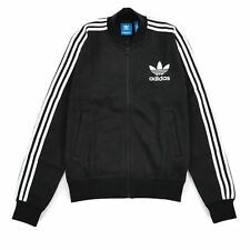 adidas ORIGINALS ADC FASHION TRACK TOP BLACK ADICOLOR FULL ZIP track top MEN'S