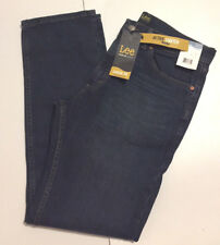 LEE Premium Jeans 32x32 Classic Fit Active Stretch Straight Leg Cruiser Dk Blue