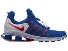 NEW MENS NIKE SHOX GRAVITY RUNNING SHOES TRAINERS GAME ROYAL / UNIVERSITY RED