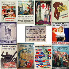 2nd Large selection - High quality World War II Posters WW2 (boost moral)