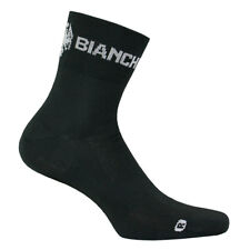 Bianchi Milano ASFALTO Coolmax Cycling Socks : BLACK - One Pair