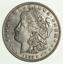 1921-D - Morgan Silver Dollar - Last Year - 90% - US Coin *884