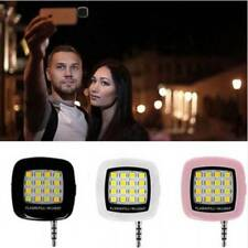 Portable Mini 16 LED Selfie Flash Fill Light for Mobile Cell Phone IOS Android