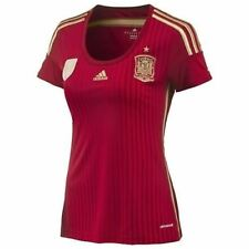 adidas WOMEN'S SPAIN NATIONAL FOOTBALL TEAM HOME JERSEY RED football SOCCER
