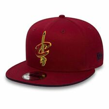 New Era 9FIFTY NBA Cleveland Cavaliers Classic Logo Adjustable Snapback Hat