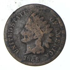 KEY DATE 1866 Indian Head Cent - *** High Book Value! *293