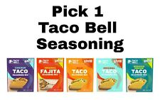 3 Pack Taco Bell Seasoning Mix 1 oz Each Pick any Flavor in 1 Order