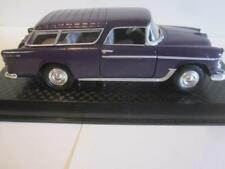 Road Champs ~ 1955 CHEVROLET NOMAD ~1:43 ~ with Display Box