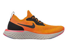 Womens Nike Epic React Flyknit Running Shoes Trainers Copper Flash/Black/Flash