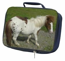 Shetland Pony Navy Insulated School Lunch Box Bag, AHC-3LBN