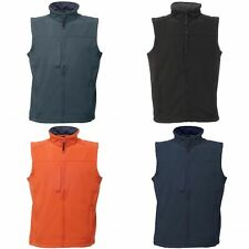 Regatta Mens Flux Softshell Bodywarmer / Sleeveless Jacket (Water (RW1213)