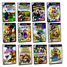 Gamecube Game Mario Kart Mario Party Mario Power Tennis Super Mario