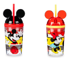 Minnie Mickey Mouse Tumbler with Snack Cup and Straw Disney Eats New 2019