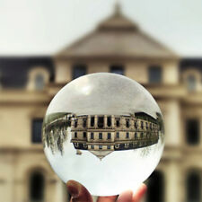 K9 Glass Clear Crystal Ball Photo Prop Background Sphere Photography Lens