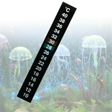 Digital Aquarium Fish Tank Thermometer Temperature Sticker Dual Scale