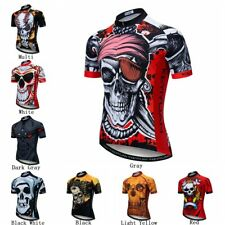 Anti-Sweat Cycling Jersey Mens Short Sleeve Bicycle Clothes Breathable Quick-Dry