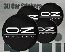 Wheel stickers OZ Racing Center Cap Logo Badge Wheel Trims Rims Decal 3d Hub Cap