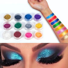 12 Colors Glitter Dust Powder Set for Nail