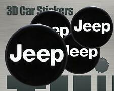 Wheel stickers Jeep Center Cap Logo Badge Wheel Trims Rims Decal 3d Hub Caps