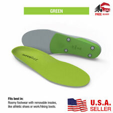 New Superfeet Premium GREEN Insoles Inserts Orthotics Sizes: B C D E F G USA