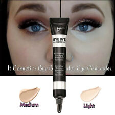 IT COSMETICS BYE BYE UNDER EYE SHADES CONCEALER FULL SIZE!! Light & Medium