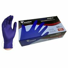 CleanShield 4 Mil Premium Blue Medical Nitrile  Latex Free Disposable 300 Gloves