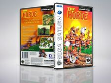 The Horde - Saturn - Replacement Case / Cover - (NO GAME)