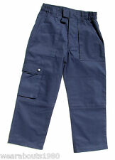 Beavers Cubs Scouts Official Uniform Activity Trousers - Navy Blue, All sizes