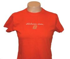 OSU Oklahoma State Cowboys Ladies Embroidered Licensed T-Shirt - Free Shipping