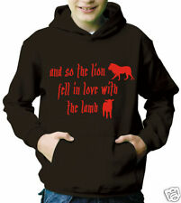 Lion fell in Love with the Lamb Hoody - Twilight (737)