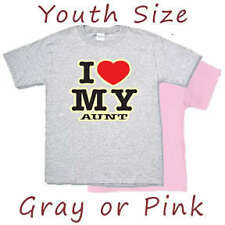 Kids / Youth Shirt * I Love My Aunt Funny Auntie tshirt