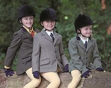 Shires Childs Huntingdon Tweed Riding Jacket  All Sizes