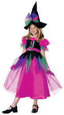 Rainbow Witch Sorceress Wizard Toddler Child Costume