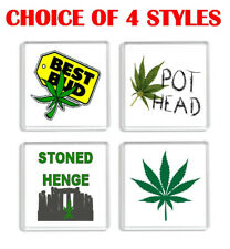 FUN WEED FRIDGE MAGNETS CHOICE OF 4