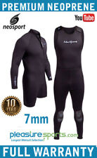 2 Piece Wetsuit 7mm NeoSport Mens Farmer John & Jacket Men's Combo Dive Suit
