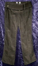 VICTORIAS SECRET KATE STRETCH BLACK CORDUROY PANT 0 4 S