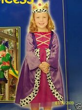 Renaissance Princess Queen Maiden Toddler Child Costume