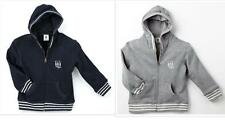 MIDA Boys College Hooded Jumper Navy or Gray - size 2,3,4,5,6