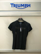 GENUINE Triumph Ladies Jewel & Logo T Shirt  BNWT 50% OFF