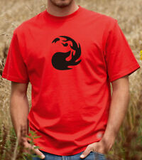 Red Mana Tshirt - Moutains - Magic the Gathering (1632)