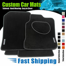 MG ZT (2001 to 2004) LUXURY LEATHER TRIM CAR MATS + MG ZT LOGO