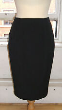 Baylis & Knight Black BOMBSHELL Sexy Dita Wiggle Pencil Skirt Tapered Hem