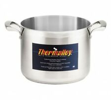 BROWNE-HALCO THERMALLOY STOCK POT, STAINLESS STEEL STOCK POT, INDUCTION READY