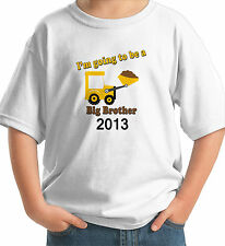 DIGGER I'M GOING TO BE A BIG BROTHER 2012 2013 2014 T-SHIRT