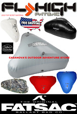 FLY HIGH OPEN BOW TRIANGLE FAT SAC 1000 LBS WAKEBOARD SURF BOAT BALLAST BAG W706