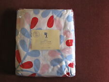 Pottery Barn Kids Abby Duvet Cover Queen or Twin Light Pink Blue Super cute!!!