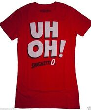 New Authentic Mighty Fine UH OH SpaghettiOs Juniors T-Shirt CLEARANCE