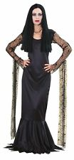 Morticia Addams Family Gothic Vampire Witch Dress Up Halloween Adult Costume
