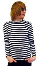 NEW MENS RETRO INDIE MOD SIXTIES STRIPED/STRIPEY T-SHIRT 60s Mods All Sizes